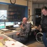 24 - ook radio-collega's kwamen even kijken