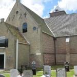 De kerk in Oosterend