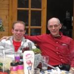 Rene en zijn zoon Michel