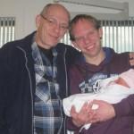 opa, papa en Kylie