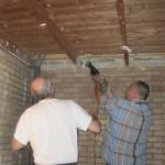 01 - het oude plafond moet eruit