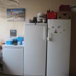 14 - onze bijkeuken nu in de woonkamer