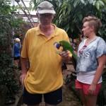 139 - ook de papagaaien mocht je voeren
