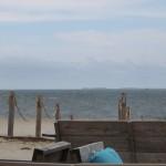 153 - uitzicht over  zee