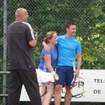 165 - Masha Kraaijpoel en tennispartner