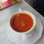 182 - tomatensoep met echte stukjes tomaat erin