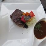 184 - biefstuk met rode wijnsaus