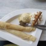 187 - crepe's met vanilleijs en slagroom
