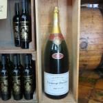 45 - een klein flesje champagne