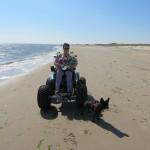 65 - lekker met de Cadweazle op het strand