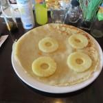 62 - pannenkoek met ananas voor  Rene